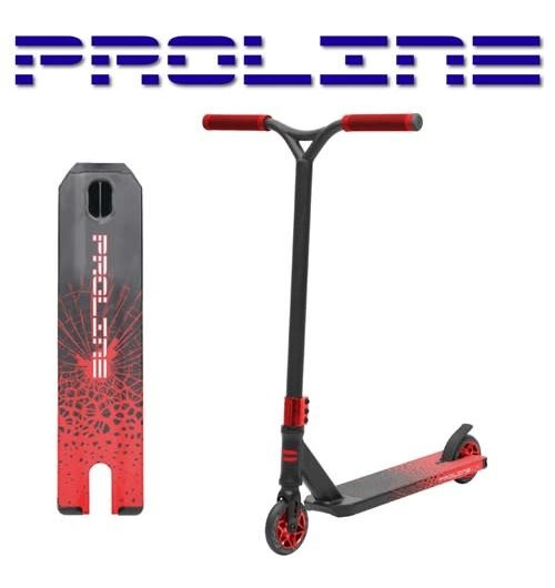 L2 Series Scooter - Red-Crack