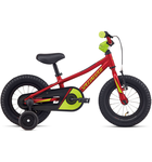 Specialized Riprock Coaster 12 Gloss Candy Red Hyper Green