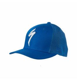 Specialized New Era S-Logo Trucker Hat Cobalt Blue