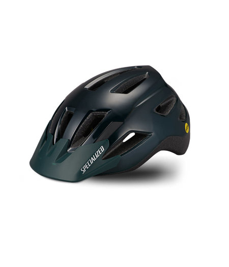 Specialized Shuffle Child LED Child (4–7Y) Helmet Gloss Forest Green/Oasis