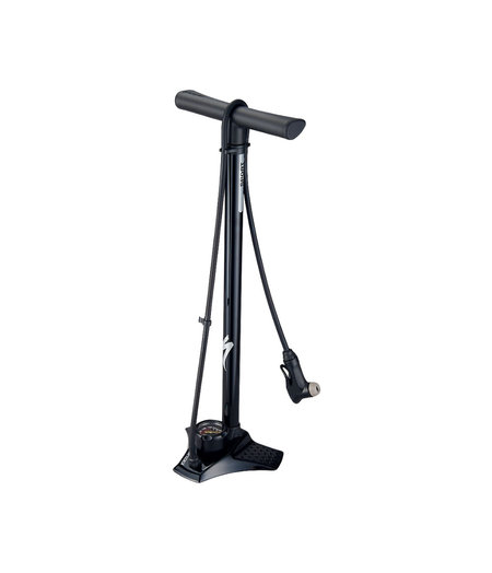 Specialized Air Tool Sport Steel Switchhitter II Floor Pump Black