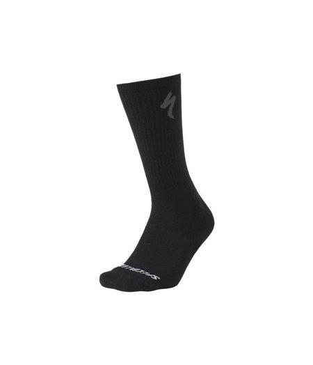 Specialized Merino Midweight Tall Socks Black