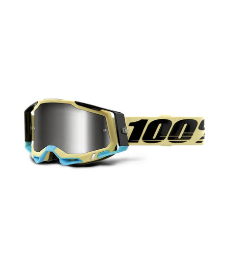 100% Racecraft 2 Goggle Airblast - mirror silver