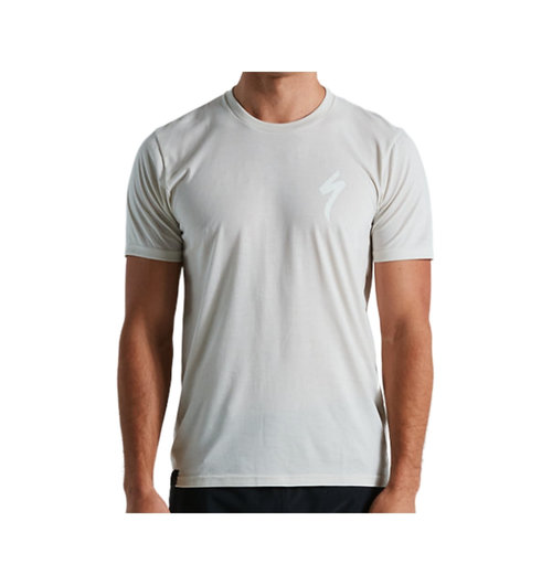 Specialized Mens S-Logo T-shirt Dove Grey