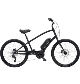 """Electra Townie Go! 8D Step-Over Matte Black 26"""" wheel"""