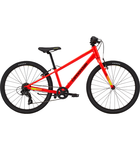 Cannondale Kids Quick 24 7-Speed Boys Acid Red
