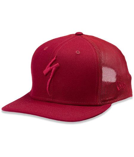 Specialized New Era S-Logo Trucker Hat Crimson Red