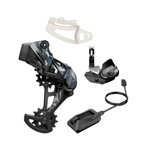 SRAM XX1 Eagle AXS Upgrade Kit (Rear Der w/battery, Controller w/clamp, Charger)