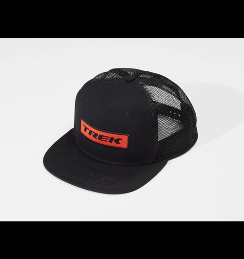 Trek Patch Trucker Hat Black