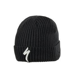 Specialized New Era Cuff Beanie S-Logo Black / Dove Grey