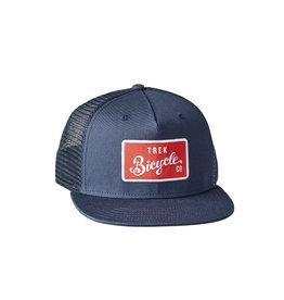 Trek Trek Bicycle Trucker Hat, Navy One size