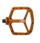 OneUp Flat Aluminum Pedals Orange