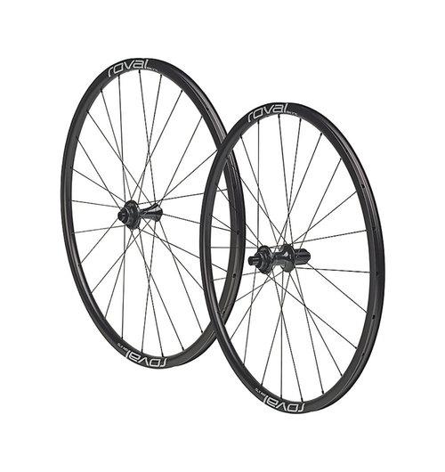 Roval SLX 24 Disc Wheelset Black/Charcoal 700c (pair)