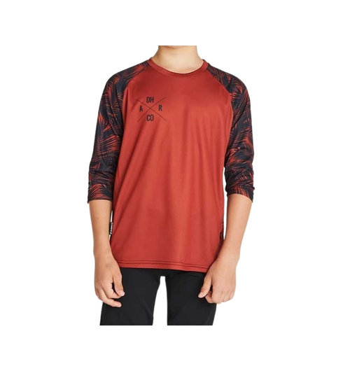 DHaRCO Youth 3/4 Sleeve Jersey Tiger Palm