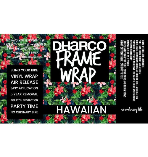 DHaRCO Frame Wrap Hawaiian