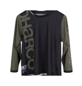 DHaRCO Youth Gravity Jersey Black Camo Large