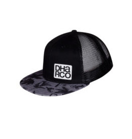 DHaRCO Flat Brim Trucker Party Stealth