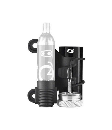 Crankbrothers Tool Cigar Black & Silver (CO2 not inc))