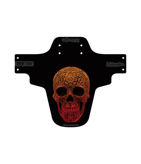 Dirtsurfer Mudguard Carved Skull