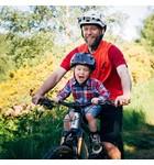 Kids Ride Shotgun (Pre-Order) Pro MTB Child Seat Black