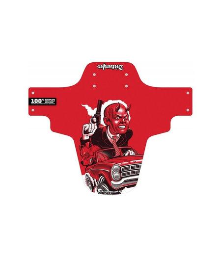 Dirtsurfer Mudguard Roadrage Red