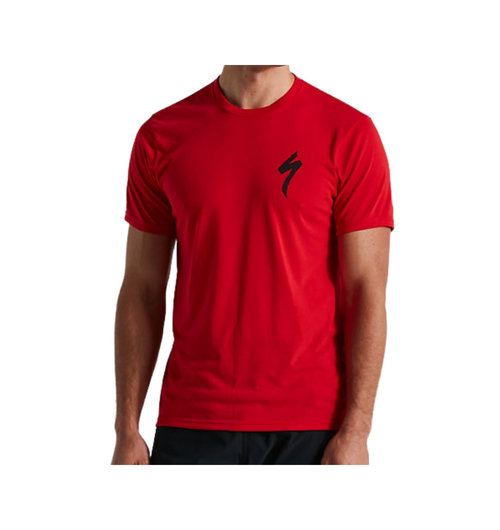 Specialized Men's S-Logo T-Shirt Red