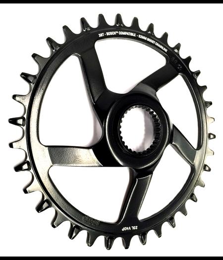 e*thirteen Chainring e*spec Steel Direct Mount   34T   Bosch CX Gen4   Black