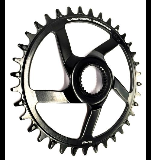 e*thirteen Chainring e*spec Steel Direct Mount | 34T | Bosch CX Gen4 | Black