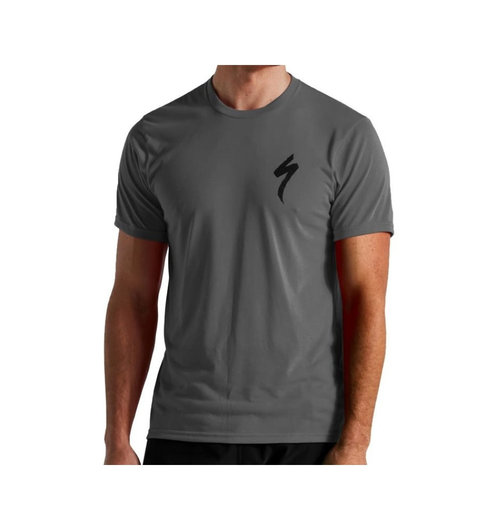 Specialized Men's S-Logo T-Shirt Smoke