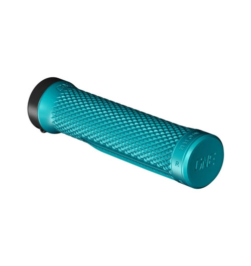 OneUp Lock-On Grips Turquoise