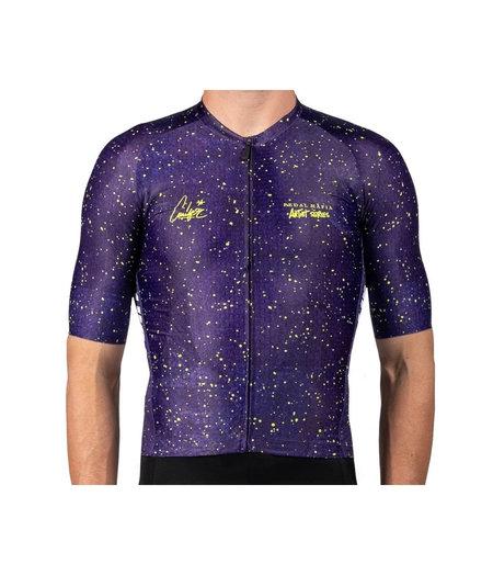 Pedal Mafia Men's Artist Series Jersey Drop Cloth Purple