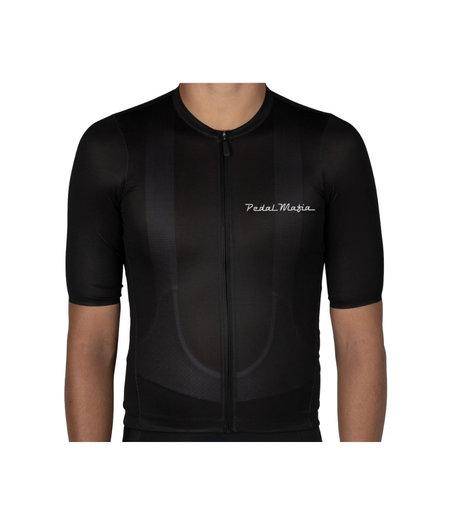 Pedal Mafia Mens Tech Jersey Black