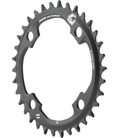 SRAM Chain Ring X-Sync 2 34 Tooth 104 BCD Alloy 1x12 speed Black