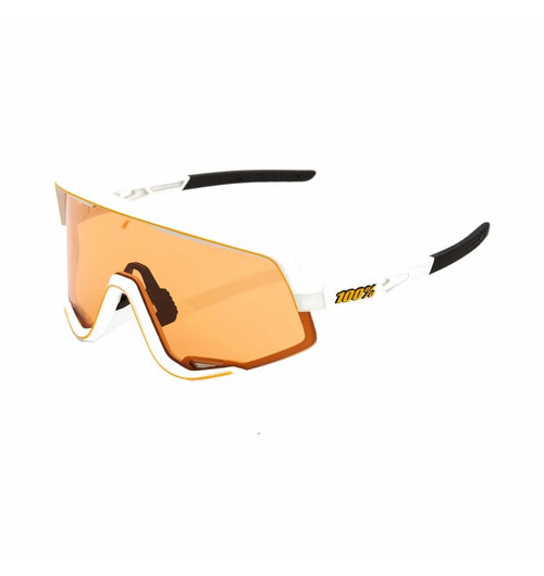 100% Glendale Soft Tact Off White Persimmon Lens