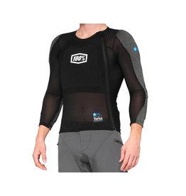 100% Tarka Long Sleeve Armour Black