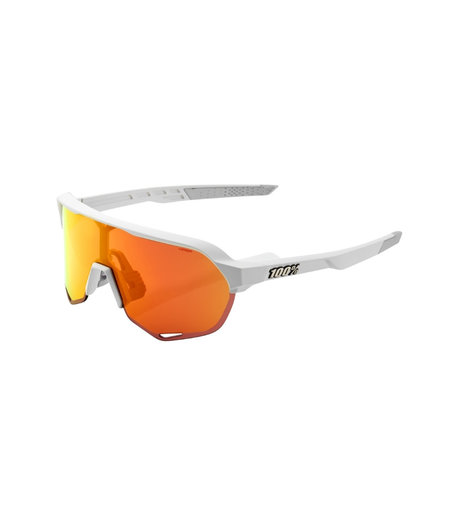 100% S2 Soft Tact Off White HiPER Red Multilayer Mirror Lens