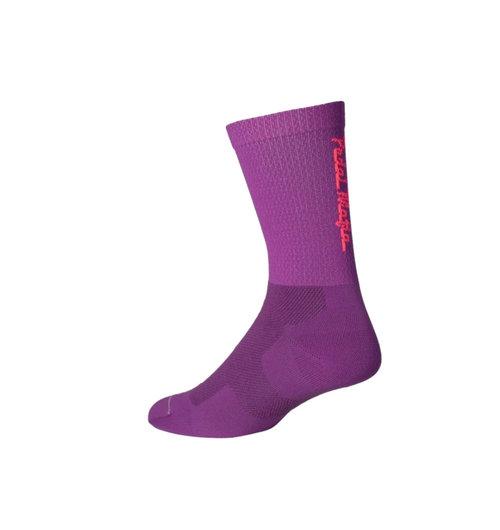 Pedal Mafia Tech Sock Purple Pink