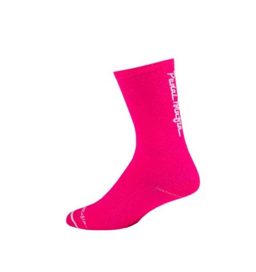 Pedal Mafia Sock HV Pink