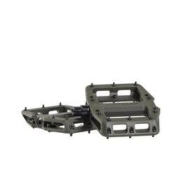 Bontrager Line Elite MTB Pedal Set Olive Grey/Black