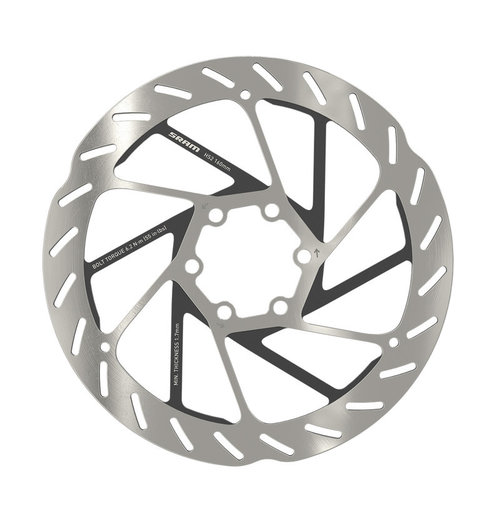 SRAM Rotor HS2 6-bolt Rounded (includes Steel rotor bolts)