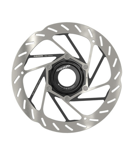 SRAM Rotor HS2 CentreLock Rounded (lockring sold separately)
