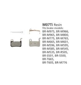 Shimano BR-M975 Resin Pads & Spring M07-Ti