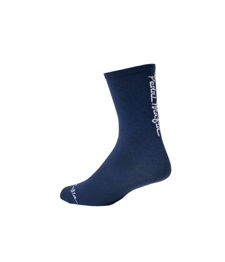 Pedal Mafia Pro Sock - Navy White 2.0