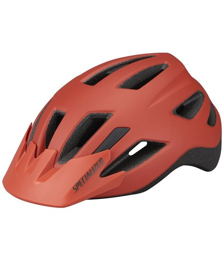 Specialized Shuffle Youth Standard Buckle Youth (7–10Y+) Helmet Satin Redwood