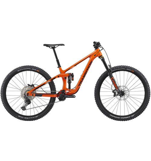 Transition Bicycle Co. Spire Alloy Deore Factory Orange