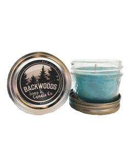 Backwoods Soap & Co Blue Raspberry Mini Mason