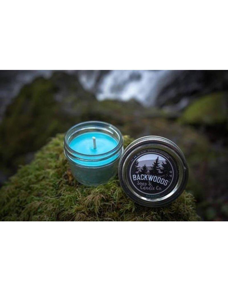 Backwoods Soap & Co Blue Raspberry Mini Mason