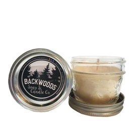 Backwoods Soap & Co Sandalwood Mini Mason