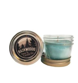 Backwoods Soap & Co Ocean Mist Mini Mason