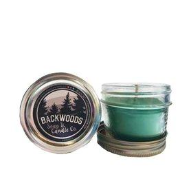 Backwoods Soap & Co Evergreen Mini Mason